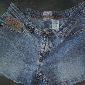 No boundaries blue jeans shorts
